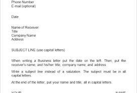 Simple Business Letter Format Business Letter Writing Format Samples Email Writing Format Sample