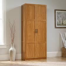 cabinet.  Cabinet Amazoncom Sauder Storage Cabinet Highland Oak Finish Kitchen U0026 Dining Intended Cabinet