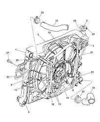 2004 jeep grand cherokee radiator related parts diagram 00i76091
