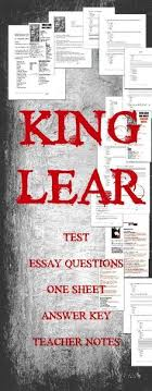 king lear test qs and ap® english literature response  king lear