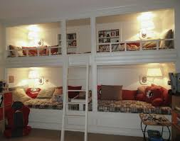 Captivating Diy Built In Bunk Beds Plans Images Design Inspiration
