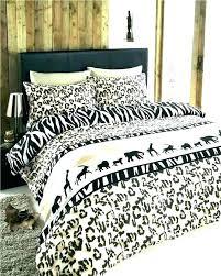 safari print bedding sets quilts animal quilt duvet new dress