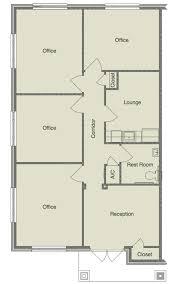 small office floor plan. Single Unit Floor Plan Small Office A