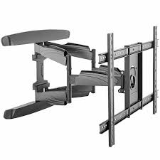 full motion tv wall mount up to 70in tv
