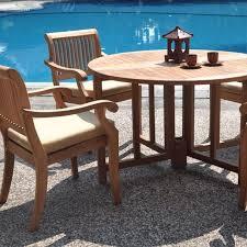 teak patio furniture beachfront decor