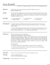 Resume For Customer Service Representative For Call Center Unique
