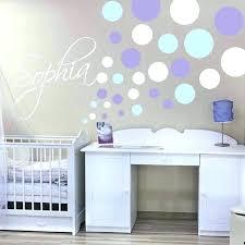 circle wall decals polka dot nursery trendy designs gold decor nz