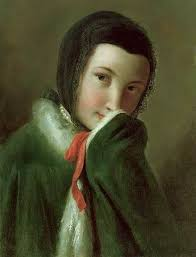 <b>Ротари</b>, Пьетро Антонио - Портрет девушки в черном шарфе и ...