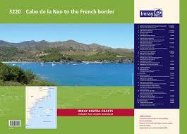 3220 Cabo De La Nao To The French Border Chart Atlas