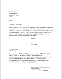 Power Of Attorney For Child Care Power Of Attorney Letter For Child Care Word Excel Templates