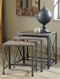 Buy Ashley Furniture T500 716 Rustic Accents Nesting End Tables