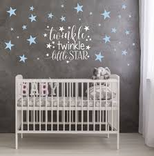 >twinkle twinkle little star nursery decor star wall decals  twinkle twinkle little star nursery decor star wall decals twinkle twinkle nursery wall decal
