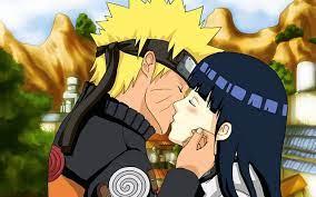 naruto and hinata kissing-Anime Character Wallpaper Preview