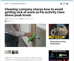 OpenWorks In The News: Flu Prevention - Commercial Cleaning & Facility  Services