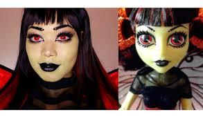 monster high luna mothews makeup tutorial