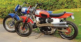 triumph classic motorcycles street tracker and super moto