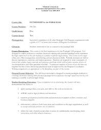 Sample Paralegal Resume With No Experience Resume Sample New
