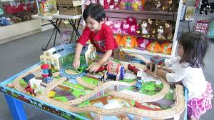 the kids the thomas and friends wooden table play set