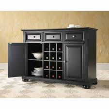 Kitchen Buffet Hutch Furniture Crosley Furniture Alexandra Buffet Server And Sideboard Cabinet