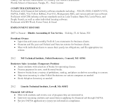 Attractive Financial Aid Resume Image Collection Documentation