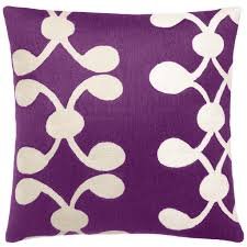 simple purple decorative pillows  style of purple decorative