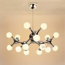 dna molecule 15 led ceiling light pendant lamp