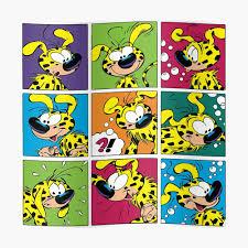 Marsupilami squares