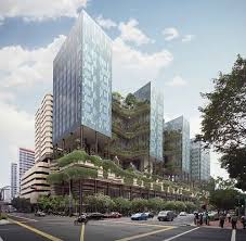 sustainable office building. Parkroyal, Future Building, Vertical Gardens, Green Architecture Sustainable Office Building S