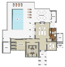 Clubhouse Floor Plan Design Clubhouse The Villas At Glenmoor Greens