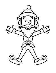Coloring pages online for kids and family. Free Printable Elf Coloring Pages For Kids