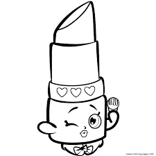 Shopkins Coloring Pages For Free Printable Coloring Pages Free