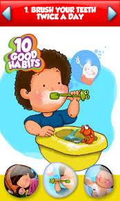 Chart On Healthy Habits Good Habits Chart For Children Www Bedowntowndaytona Com