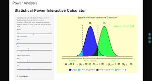Statistical Power Formula Statistical Power Calculator Show Me Shiny