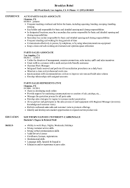 Parts Of A Resume Parts Sales Resume Samples Velvet Jobs 56