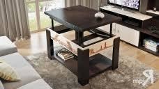 """<b>Стол журнальный тип</b> 6 (трансформер) <b>Трия</b> на """"Мебельмалл ..."""