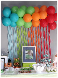 Balloon Decoration Ideas For 1st Birthday Party Simple  Ash999infoSimple Balloon Decoration Ideas At Home