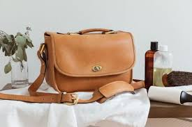 how to wash leather purses