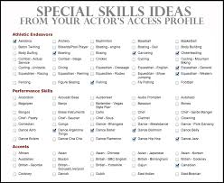 It Resume Skills | Resume Sample Format intended for Special Skills On  Resume