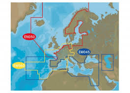 C Map Chart Cards For Sale C Map 4d Max Central And West Europe Ew060 Enkel 229 95