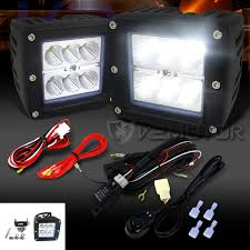 universal 2pc 6 led cube spot beam off road fog lights wiring off road wiring harness click to enlarge