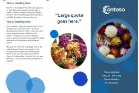 Microsoft Office Tri Fold Brochure Template 004 Template Ideas Microsoft Office Brochure Templates Best Ms