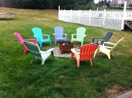 adirondack chairs around fire pit. Exellent Around Chairs Around Fire Pit Throughout Adirondack Chairs Around Fire Pit S