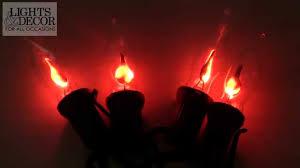 Flickering String Lights Flickering Flame Lights