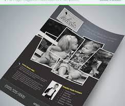 Ad Page Templates Full Page Magazine Ad Or Flyer Templates Cursive Q Designs