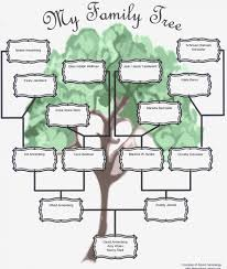 Build Family Tree Template Free Templates Word Excel Pdf Labimple