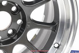 Gram Lights 57v Rays Gram Lights 57v 15x7 5 4x100 10 Dc Dark Gunmetal Finish Wheel Set