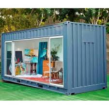 Customisable shipping containers go on sale as Australia's new 'Outdoor Room'  Dad, art