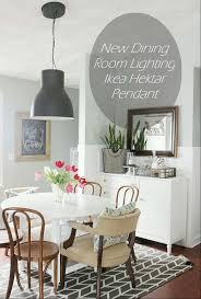 new dining room lighting ikea hektar pendant