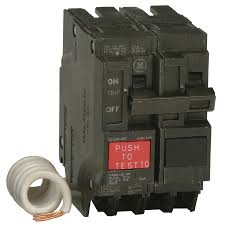 ge q line thql 50 amp 2 pole gfci circuit breaker at lowes com ge q line thql 50 amp 2 pole gfci circuit breaker