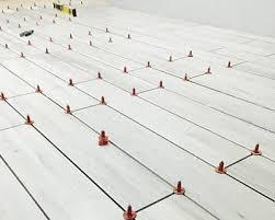 offset tile pattern lippage minimisation